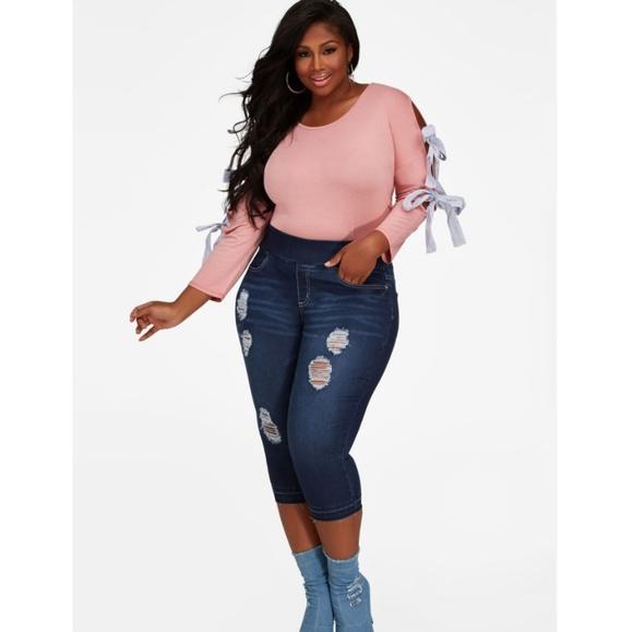 44b4248c442 Jeans. NWT. Ashley Stewart